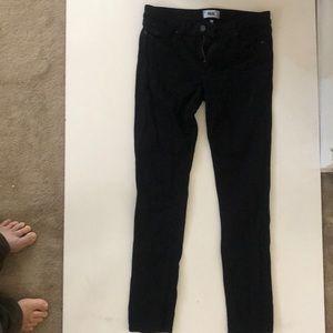 Jeans Paige skyline skinny jeans black